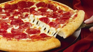 A pizza is seen in this file photo.