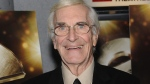 Actor Martin Landau attends a special screening of 'City of Ember' on Tuesday, Oct. 7, 2008 in New York. (AP Photo/Evan Agostini)