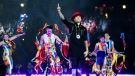 Taboo performs during the opening ceremony of the 2017 North American Indigenous Games, in Toronto on Sunday, July 16, 2017. THE CANADIAN PRESS/Mark Blinch
