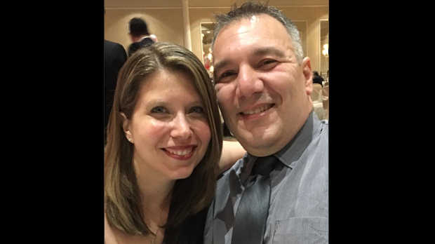 Friends and family of George Eliadis and Shari Williams have identified the couple as the two people killed in a crash near Haliburton on Saturday. (Facebook/ Michelle Russo)