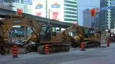 Dundas, Street, downtown, closure