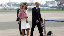 Kate, William, Poland