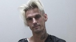 This undated photo provided by the Habersham County Sheriff's Office shows Aaron Carter. (Habersham County Sheriff's Office via AP)