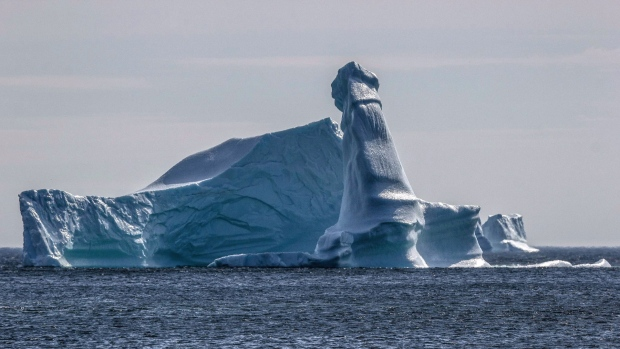 Manly iceberg