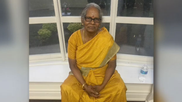 Kamadchipillai Sivaloganathan, 71, is seen in this undated photo.