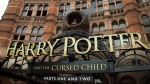 "FILE - This July 30, 2016, file photo shows the Palace Theatre in central London which is showing a stage production of, ""Harry Potter and the Cursed Child."" Harry Potter publisher Bloomsbury announced July 18, 2017, that two new books from the Harry Potter universe are set to be released in October as part of a British exhibition that celebrates the 20th anniversary of the launch of the series. (Photo by Joel Ryan/Invision/AP, File)"