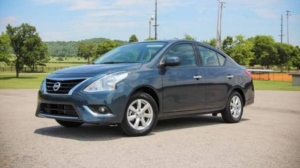 Gavin Strickland's Nissan Versa sedan shown in an image on Craigslist.