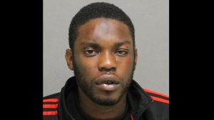 Shamar Clarke, 26, is shown in a handout image from Toronto police.