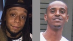 Dwayne Campbell (left) and Rinaldo Cole are pictured in this composite photo. (Handout /Toronto Police)