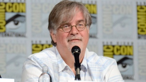 "FILE - In this July 11, 2015 file photo, Matt Groening attends ""The Simpsons"" panel during Comic-Con International in San Diego.Netflix says it has ordered an adult animated comedy from Matt Groening, mastermind of ""The Simpsons."" ""Disenchantment"" will take place in the crumbling medieval kingdom of Dreamland, which is populated by hard-drinking princess Bean, her elf companion Elfo and her personal demon Luci. (Photo by Tonya Wise/Invision/AP, File)"