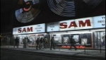 The iconic Sam The Record Man sign is seen at its previous location in this file photo.