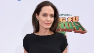 """In this Jan. 16, 2016 file photo, Angelina Jolie arrives at the world premiere of """"Kung Fu Panda 3,"""" in Los Angeles. (Photo by Jordan Strauss/Invision/AP, File)"""
