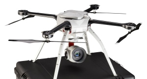 A drone similar to one lost by police in Elgin County is shown in this handout photo. (OPP)