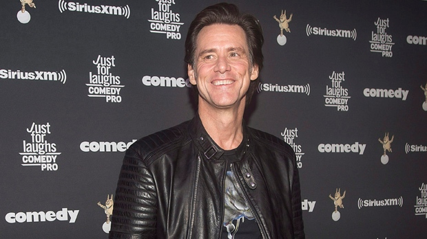 Comedy legend Jim Carrey honoured during Montreal's Just for Laughs festival