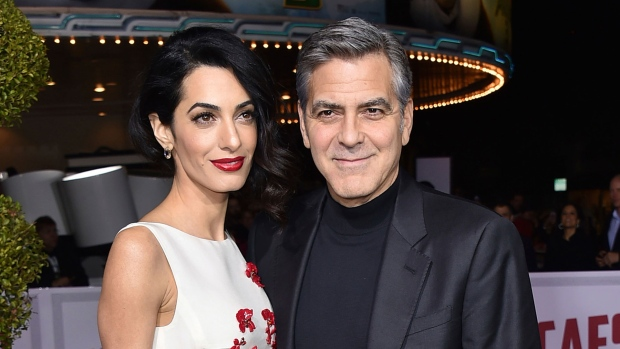 Amal and George Clooney's Foundation Will Fund Public Schools for Syrian Refugees
