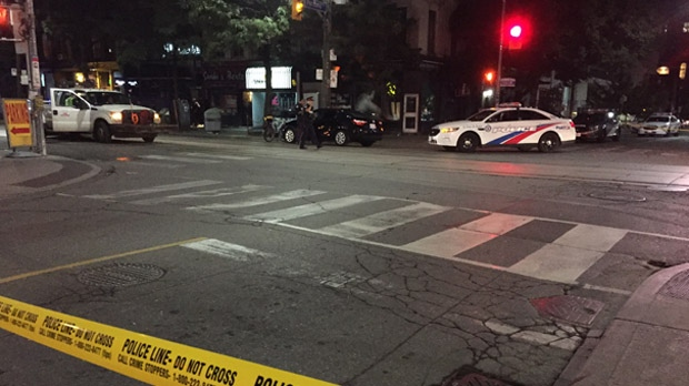 Paramedics: Man seriously injured after shooting in downtown core