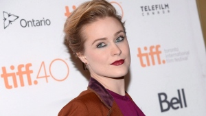 """Evan Rachel Wood attends a premiere for """"Into the Forest"""" at the Toronto International Film Festival at in Toronto, Sept.12, 2015. The world premiere of Mary Harron's TV miniseries """"Alias Grace"""" and films starring Evan Rachel Wood, Geena Davis and Sandra Oh are in the homegrown lineup for this year's Toronto International Film Festival.THE CANADIAN PRESS/ AP-Photo by Evan Agostini/Invision/AP, File"""