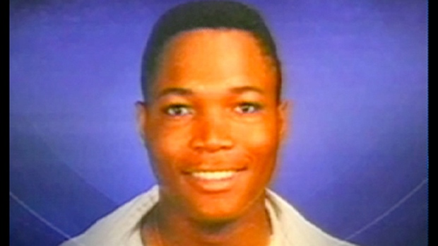 Brenton Charlton, killed in 2004, is shown in a handout image. On Friday a panel of judges ordered a new trial and quashed the conviction of Jason Wisdom, who was accused in his murder. (CTV News Toronto)