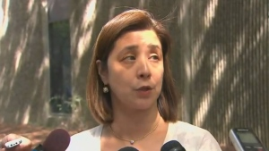 Dr. Eileen de Villa is seen in this file photo.