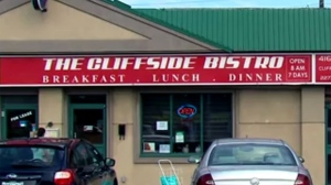 The Cliffside Bistro restaurant in Scarborough is shown in this photo.
