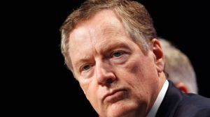 U.S. Trade Representative Robert Lighthizer listens during a news conference, Wednesday, Aug. 16, 2017, at the start of NAFTA renegotiations in Washington. (AP Photo/Jacquelyn Martin)