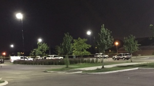 Police are investigating after shots were fired in Woburn late Wednesday night. (Chris Bracken/ CP24)