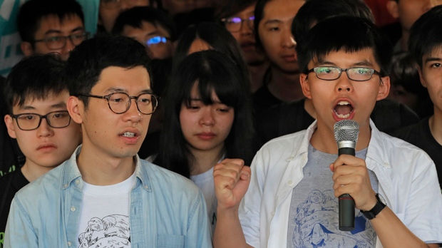 Democracy campaigners jailed in Hong Kong