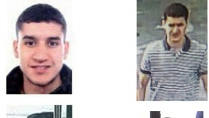 A composite image of suspect Younes Abouyaaqoub,released by the Spanish Interior Ministry on Monday Aug. 21, 2017. (Spanish Interior Ministry via AP)