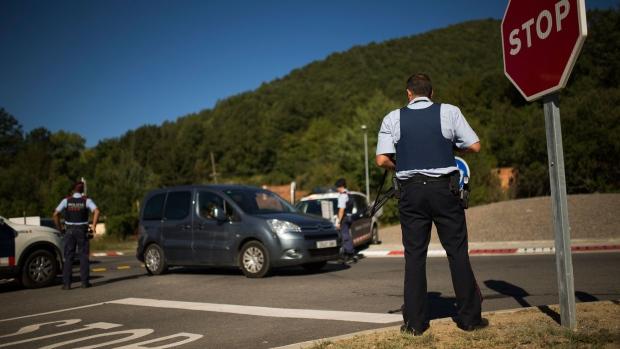 Image result for Barcelona attacker shot dead