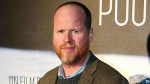 "This Jan. 21, 2014, file photo shows American film producer and director Joss Whedon at the screening of ""Much Ado About Nothing"" in Paris. (AP Photo/Remy de la Mauviniere, File)"