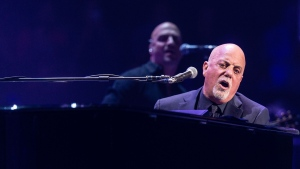 In this Nov. 21, 2016, file photo, Billy Joel performs at Madison Square Garden in New York. (Photo by Michael Zorn/Invision/AP, File)