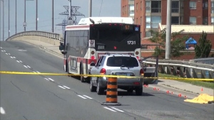TTC fatal bus incident
