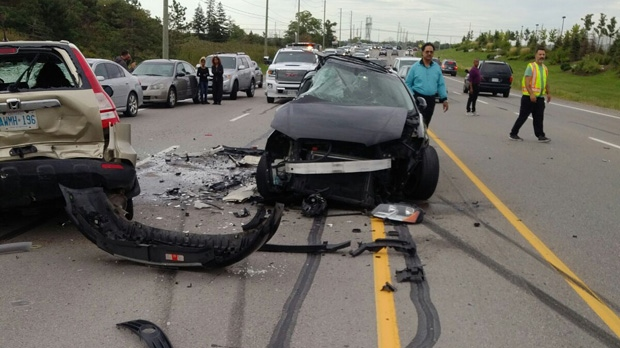Man, 28, charged with dangerous driving in fatal Vaughan crash