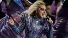 "In this Feb. 5, 2017 file photo, singer Lady Gaga performs during the halftime show of the NFL Super Bowl 51 football game between the New England Patriots and the Atlanta Falcons, in Houston. Lady Gaga, a longtime supporter of gay rights, says pride weekend is a time to shine a light on equality. ""This weekend is a time for us all to reflect on the importance of tolerance and the importance of bravery and kindness, (and) the important of us supporting one another,"" the pop star said in an interview with The Associated Press on Friday, June 23. (AP Photo/Darron Cummings, File)"