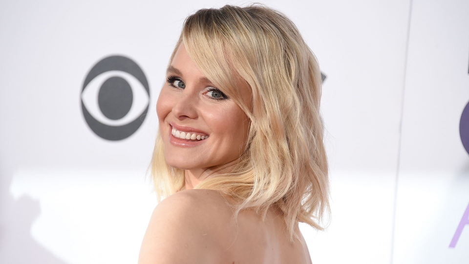In this Jan. 18, 2017, file photo, Kristen Bell arrives at the People's Choice Awards at the Microsoft Theater in Los Angeles. Bell rode out Hurricane Irma on Sept. 10, 2017, at a hotel on the Walt Disney World resort in Florida. (Photo by Jordan Strauss/Invision/AP, File)