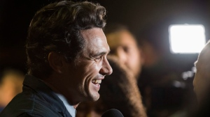 "James Franco attends a premiere for ""The Disaster Artist"" on day 5 of the Toronto International Film Festival at the Ryerson Theatre on Monday, Sept. 11, 2017, in Toronto. (Photo by Arthur Mola/Invision/AP)"