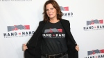 Marcia Gay Harden attends the Hand in Hand: A Benefit for Hurricane Harvey Relief held at Universal Studios Back Lot on Tuesday, Sept. 12, 2017 in Universal City, Calif. (Photo by John Salangsang/Invision/AP)