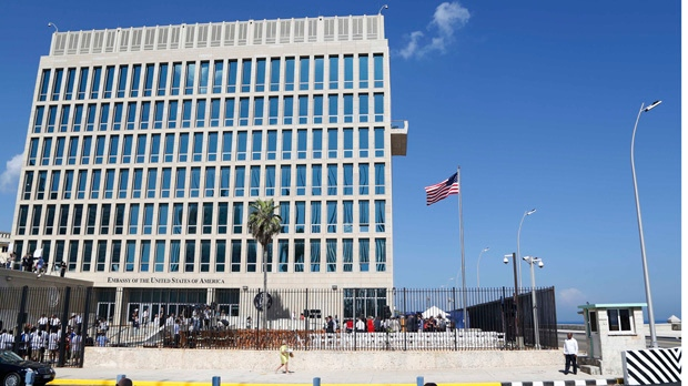cuba, embassy