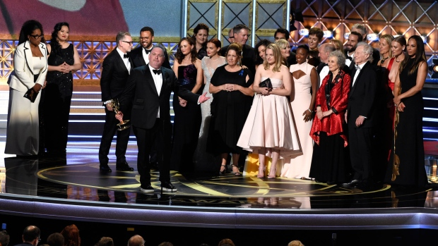 Hollywood Celebrates 69th Emmy Awards, Stephen Colbert Hosts