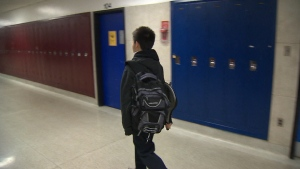 A student has launched a petition calling for an end to a backpack ban at select schools in the Dufferin-Peel Catholic District School Board.