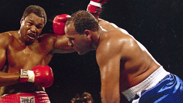Larry Holmes and David Bey