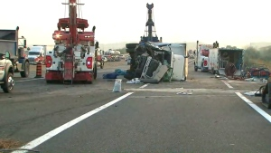 Highway, 401, crash