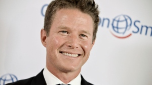 In this Sept. 19, 2014, file photo, Billy Bush arrives at the Operation Smile's 2014 Smile Gala in Beverly Hills, Calif. (Photo by Richard Shotwell/Invision/AP, File)
