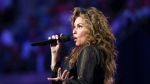 "Shania Twain performs during opening ceremonies for the U.S. Open tennis tournament in New York, Monday, Aug. 28, 2017. Bell Media says the five-time Grammy Award winner will be a mentor on the inaugural season of ""The Launch,"" which is in production. THE CANADIAN PRESS/AP-Kathy Willens"
