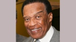 """FILE - In this May 23, 2014 file photo, Bernie Casey appears after a performance of """"The Tallest Tree in the Forest"""" in in Los Angeles.  (Photo by Ryan Miller/Invision/AP, File)"""