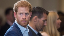 Prince Harry attends the True Patriot Love Symposium, in Toronto on Friday, September 22, 2017. THE CANADIAN PRESS/Chris Young