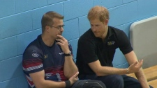 prince harry, invictus