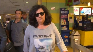 Zeljna Kosovac is shown after being granted bail on Friday.