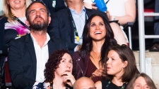 Prince Harry's girlfriend Meghan Markle attends the opening ceremony for the Invictus Games in Toronto Saturday September 23, 2017.  Nathan Denette/The Canadian Press