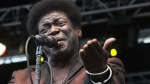 In this May 9, 2014 file photo, soul singer Charles Bradley performs at the Shaky Knees Music Festival in Atlanta, Ga. His publicist said Bradley died Saturday, Sept. 23, 2017 after a battle with stomach cancer. He was 68. (AP Photo/Ron Harris, File)